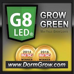 Dorm Grow: Hydroponic LED Grow Light | LED Growlights