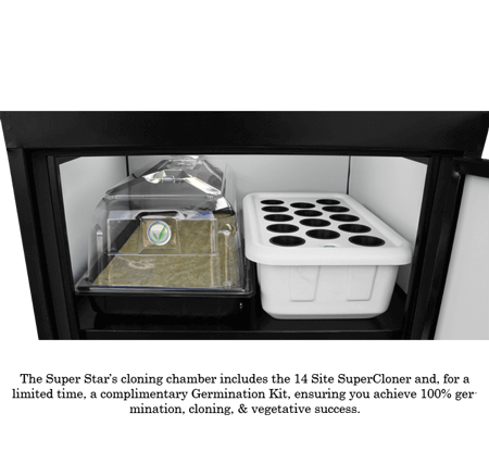 Super Star grow box cloning chamber