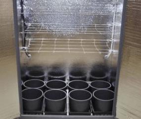 Earth Cab Grow Box 8 Pots