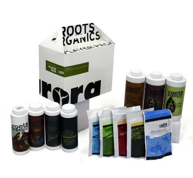 Aurora roots organics player pack