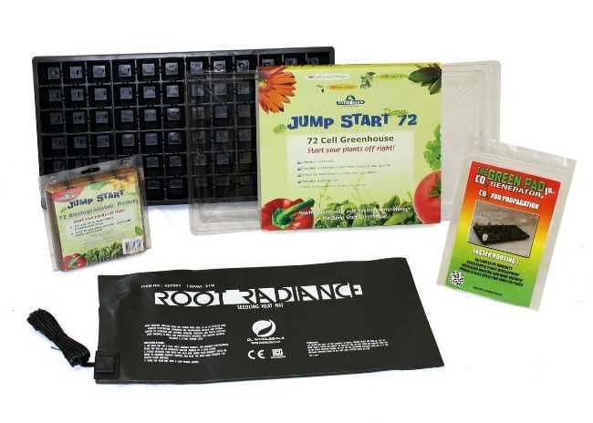 Seed starter kit for soil