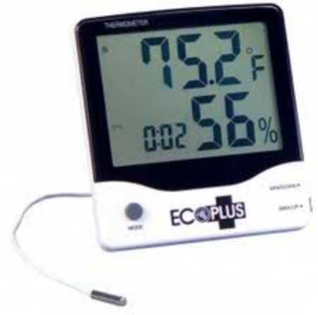 Solaris Soil grow box digital hygrometer thermometer