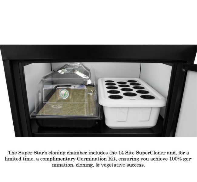 LED Super Star Grow Box Cloning Chamber