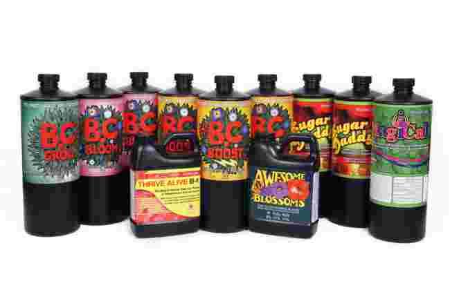 Technaflora Nutrient Super Pack for LED Super Star Grow Box