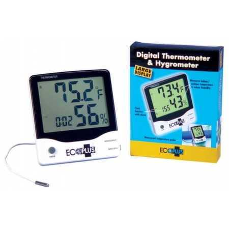 EcoPlus Thermometer Hygrometer LED Super Star