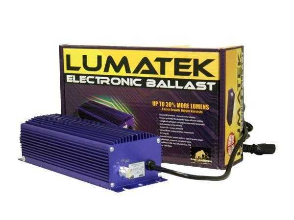 Lumatek 600W digital dimmable ballast
