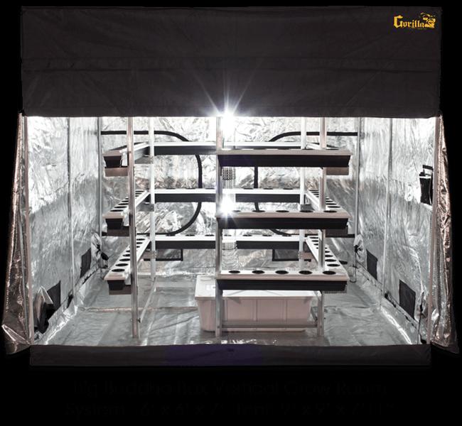Big Buddha Box 8 X 8 Vertical Grow Tent Kit Review
