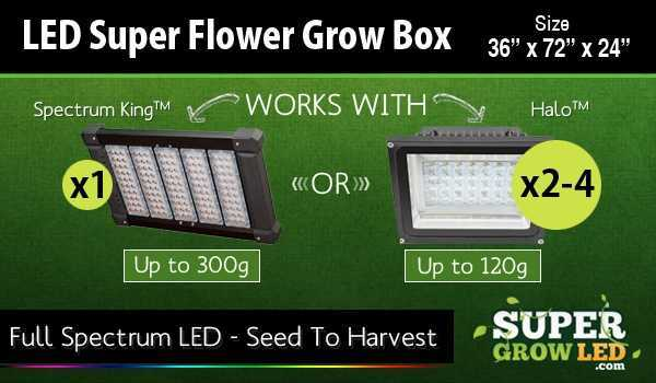 LED Super Flower with Super Grow LED