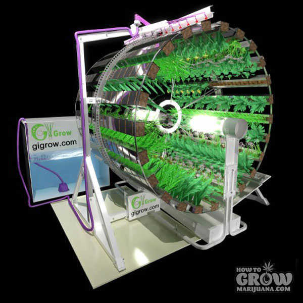 Vertical hydroponic systems for Indoor gardening machine