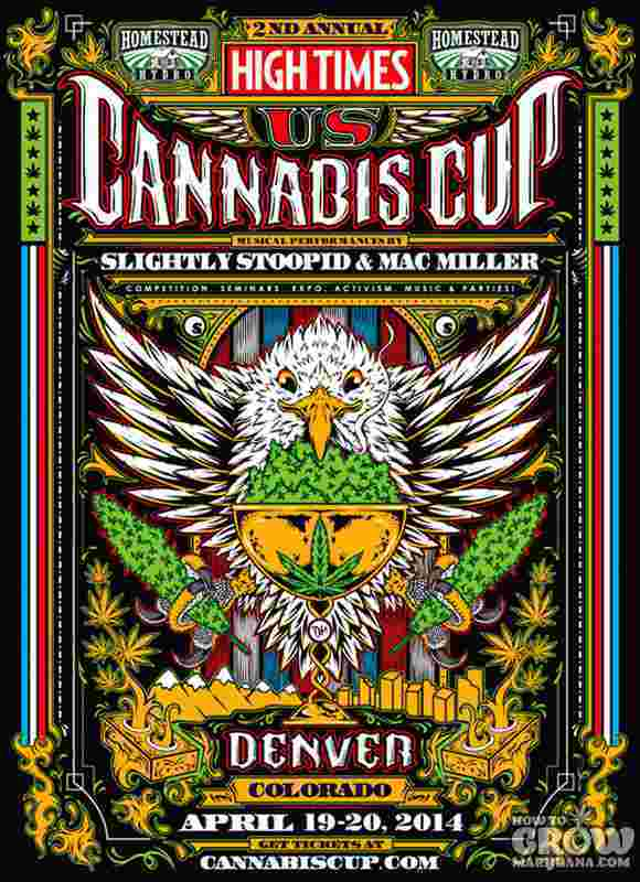 The High Times US Cannabis Cup in Denver