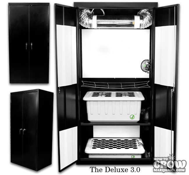 The Deluxe 3.0 Hydroponic Grow Box