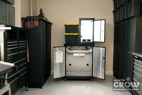 Tool Cabinet Stealth Grow Box