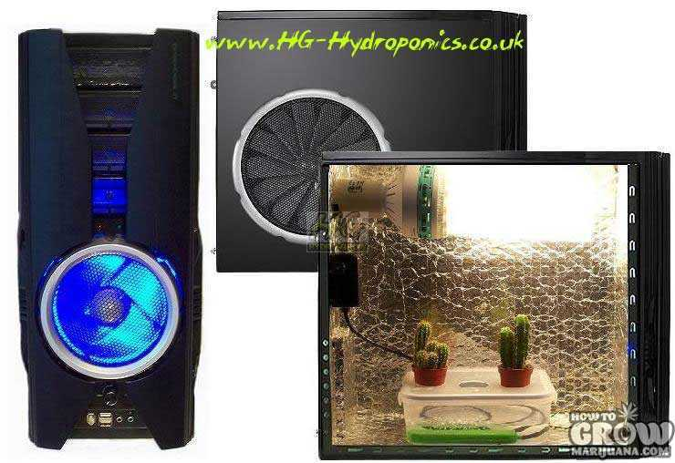 hydroponic pc grow box 2