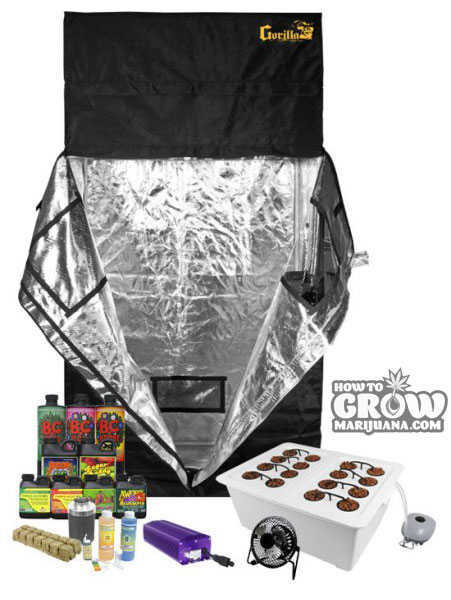 2x4 Grow Tent Kit Complete Kit