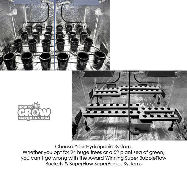 9x9 grow tent kit choice of hydroponic system