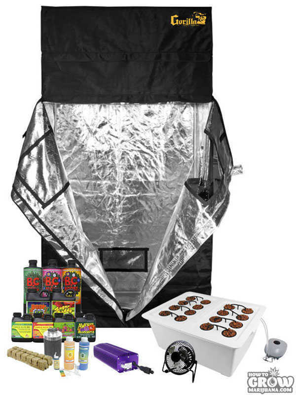 ... Dealzer Grow Buddy Grow Tent Kit (1)  sc 1 st  How to Grow Marijuana : weed grow tent kit - memphite.com