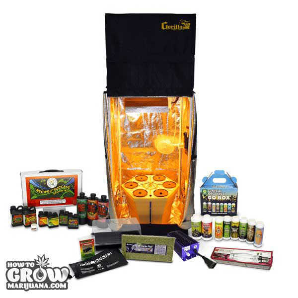 ... Gorilla grow tent complete  sc 1 st  How to Grow Marijuana & Grow Tent u2013 Hydroponic Tents Reviewed