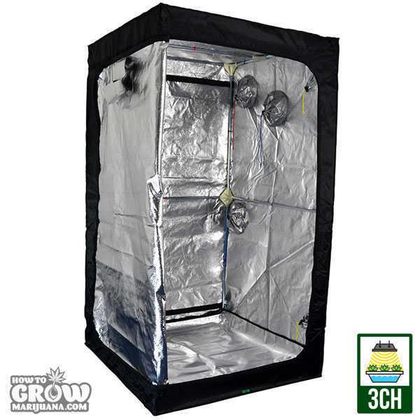 Standard Grow Cube Tents Standard Grow Cube Tent  sc 1 st  How to Grow Marijuana & Grow Tent u2013 Hydroponic Tents Reviewed