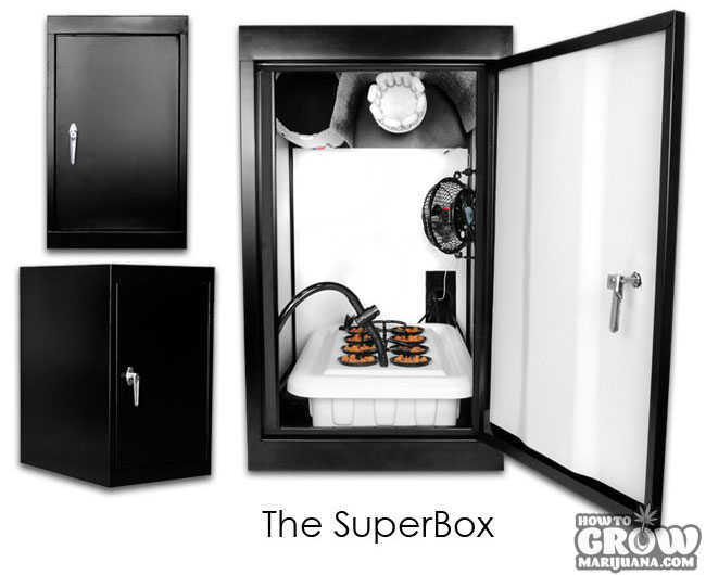 SuperBox CFL Grow Box SuperCloset