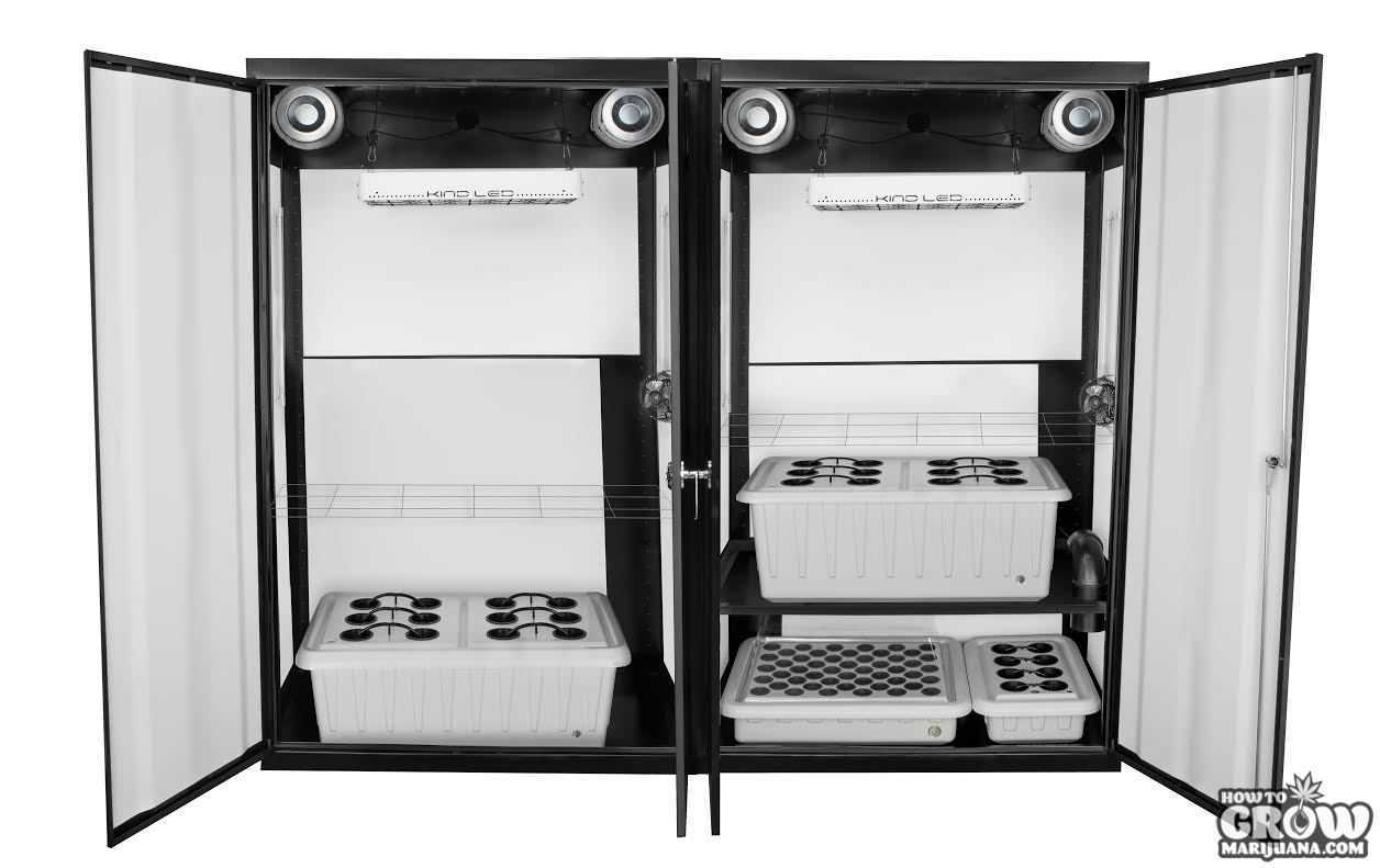 LED grow cabinets, kits, rooms and boxes all reviewed. SuperLocker ...