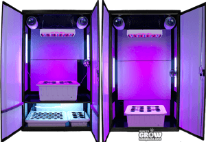 Led Grow Cabinets Kits Rooms And Boxes All Reviewed
